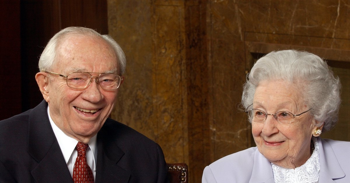 What President Hinckley taught me in an interview where he asked ...