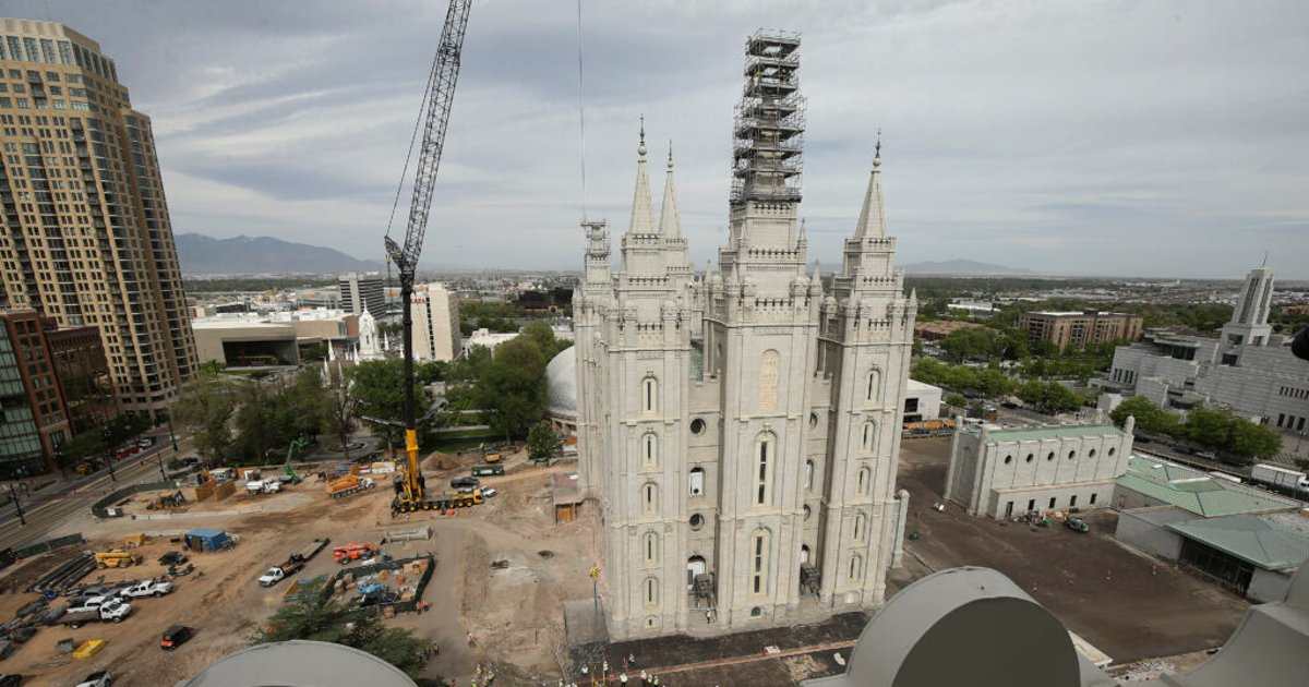 Unearthed in Salt Lake Temple renovation project, foundation stones link past challenges with present ones