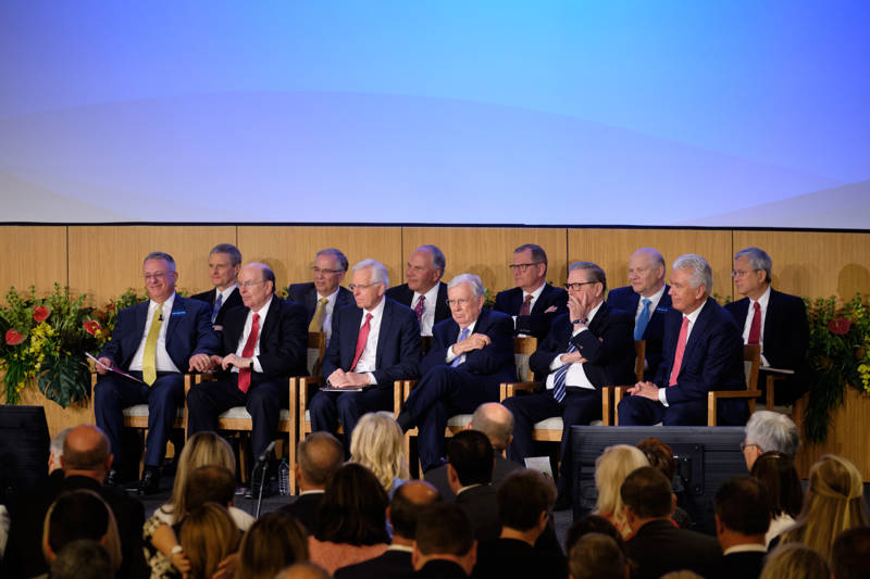 The Quorum of the Twelve Apostles attends the 2019 Mission Leadership Seminar held at the Provo Missionary Training Center in Provo, Utah, June 23-25, 2019.