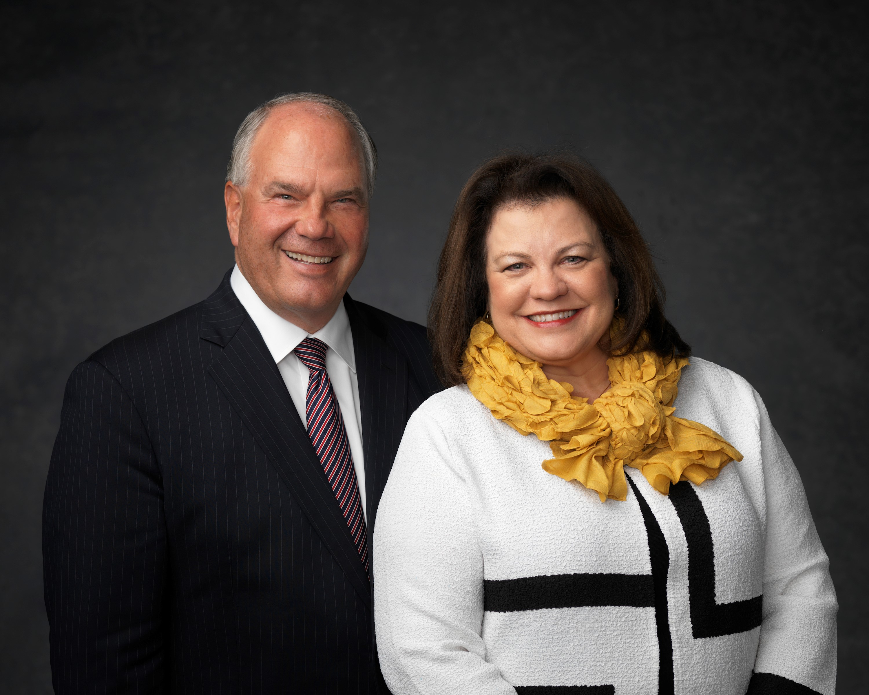 Elder Ronald A. Rasband with his wife, Sister Melanie Rasband.