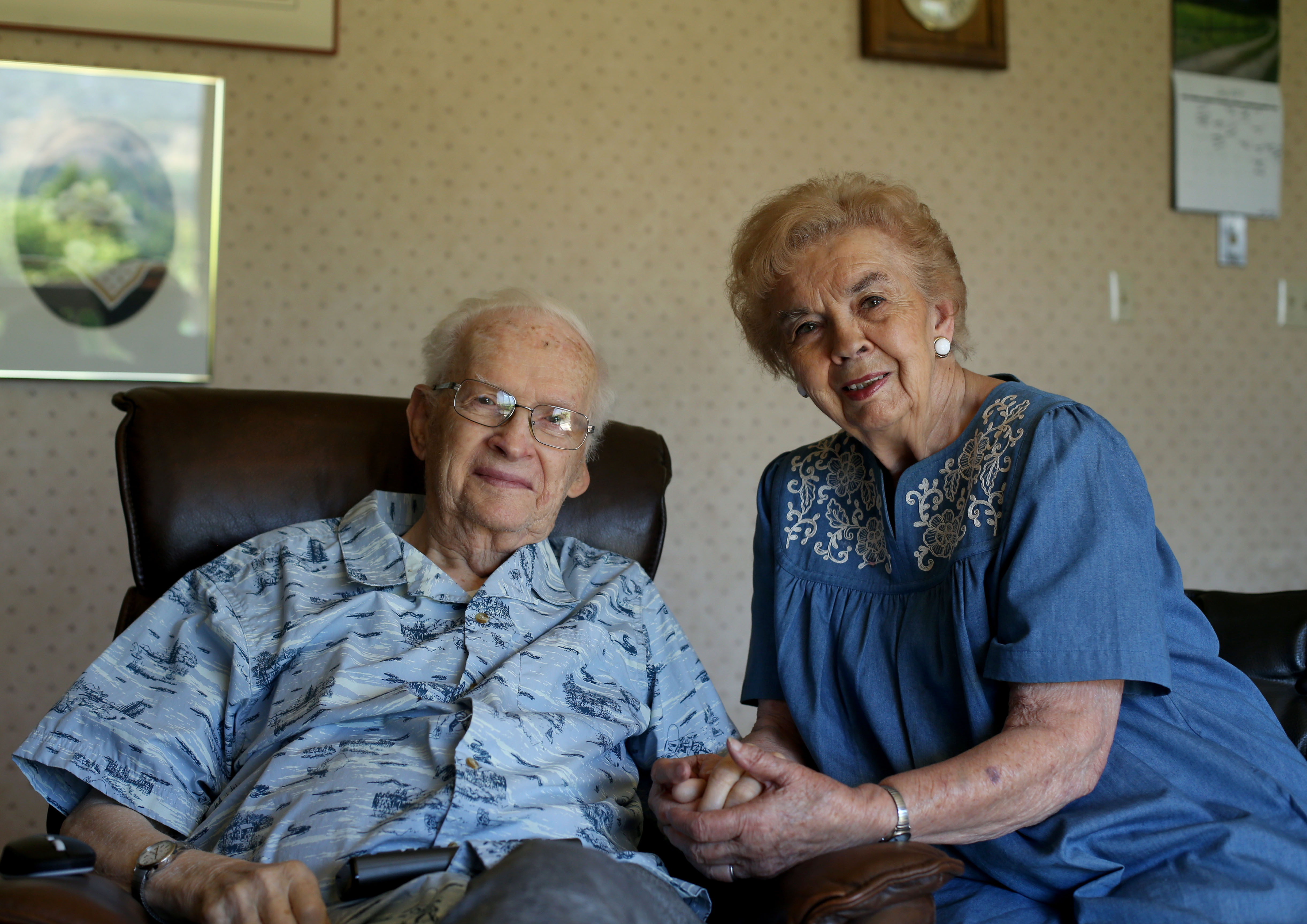 Reed and Joyce Nixon are photographed at their Orem home on Wednesday, July 10, 2019. The Nixon's have spent their entire lives serving missions for The Church of Jesus Christ of Latter-day Saints.