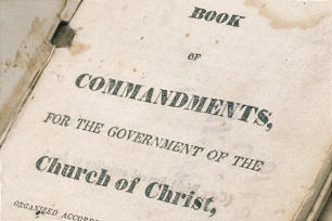 Title page to the Book of Commandments
