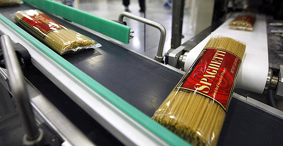 Spaghetti produced at the Deseret Mill and Pasta Plant was made from durum wheat harvested at Church-owned welfare farms. Despite an ongoing drought across the Western United States in 2021, the farms that produces wheat for pasta plant have endured.