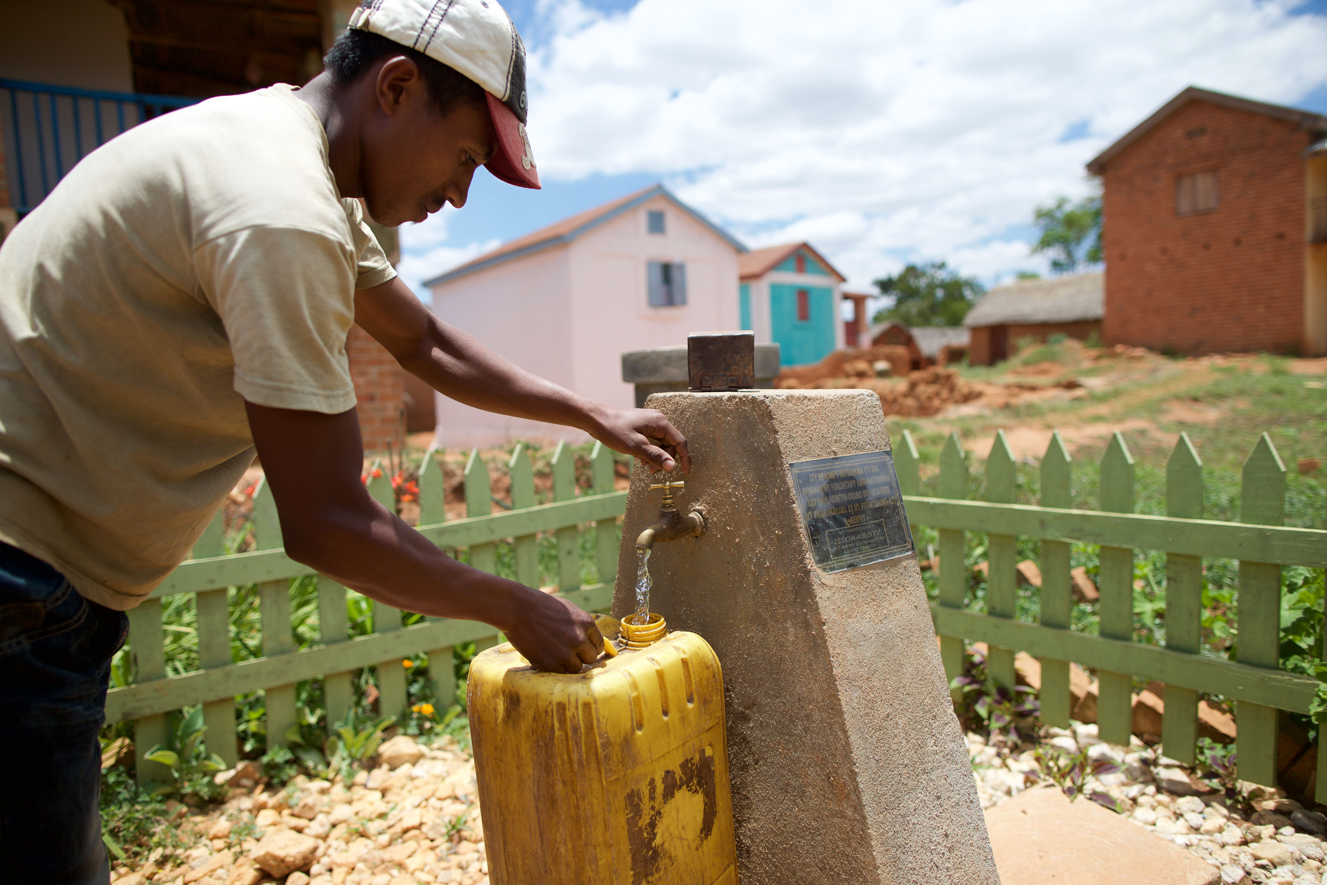 LDS Charities works with local partners to build water and sanitation systems and teach communities about system maintenance, empowering them to meet their long-term water needs.