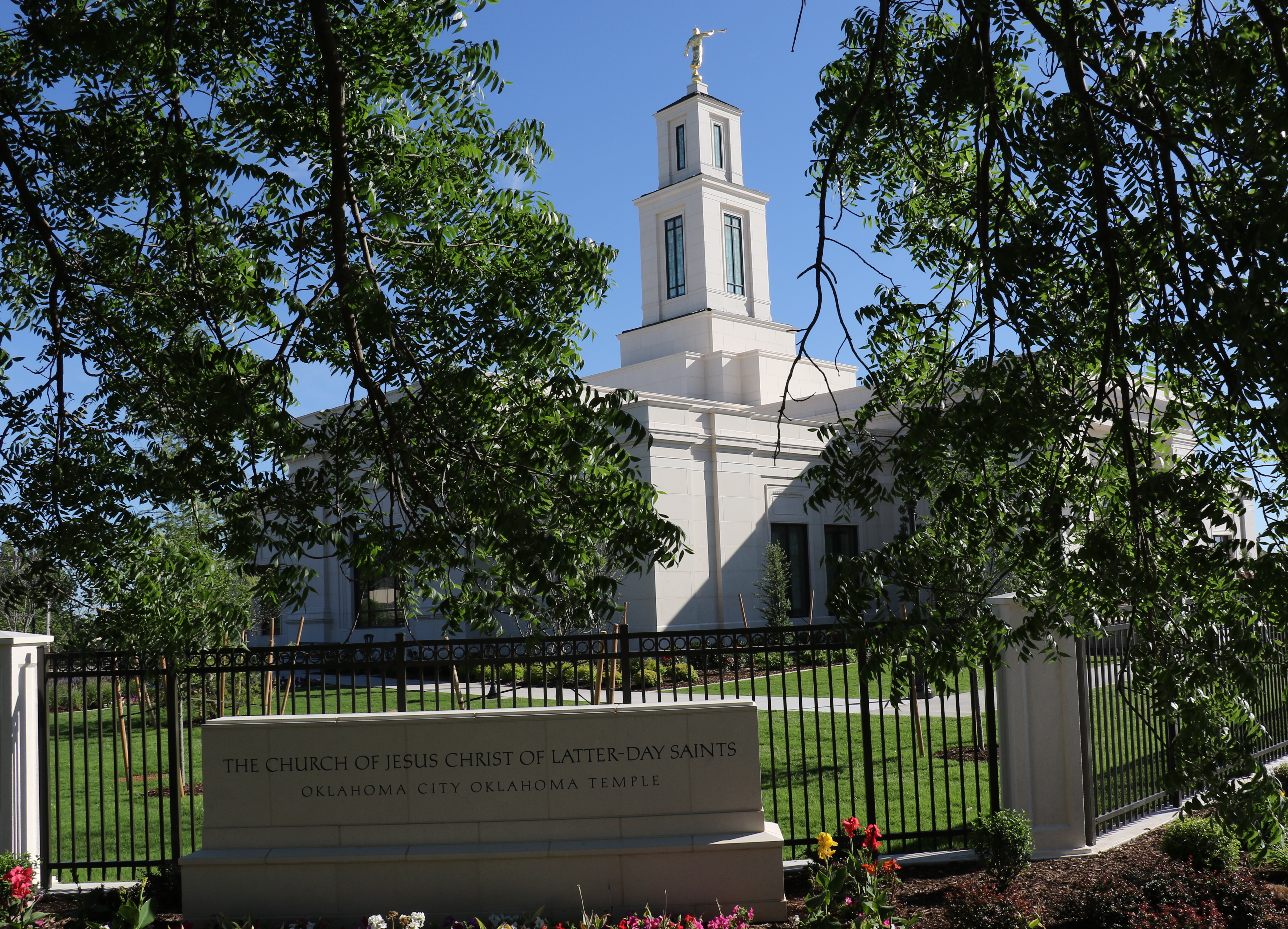 Originally dedicated in 2000, the Oklahoma City Oklahoma Temple was rededicated on May 19, 2019, by President Henry B. Eyring.