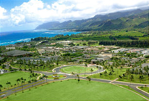 Located on the North shore of Oahu, BYU-Hawaii -- and the nearby Laie Hawaii Temple and Polynesian Cultural Center -- have attracted millions of people.