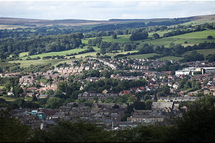 Scenic view captures beauty of the English countryside near Leeds. While in England, Elder Oaks met with three different members of British Parliament to discuss religious freedom.