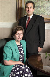 Elder Walter F. Gonzalez and his wife, Zulma Anahir Gonzalez, are both first-generation Church members. During their tenure in the Church, they have witnessed remarkable Church growth in several South American countries.