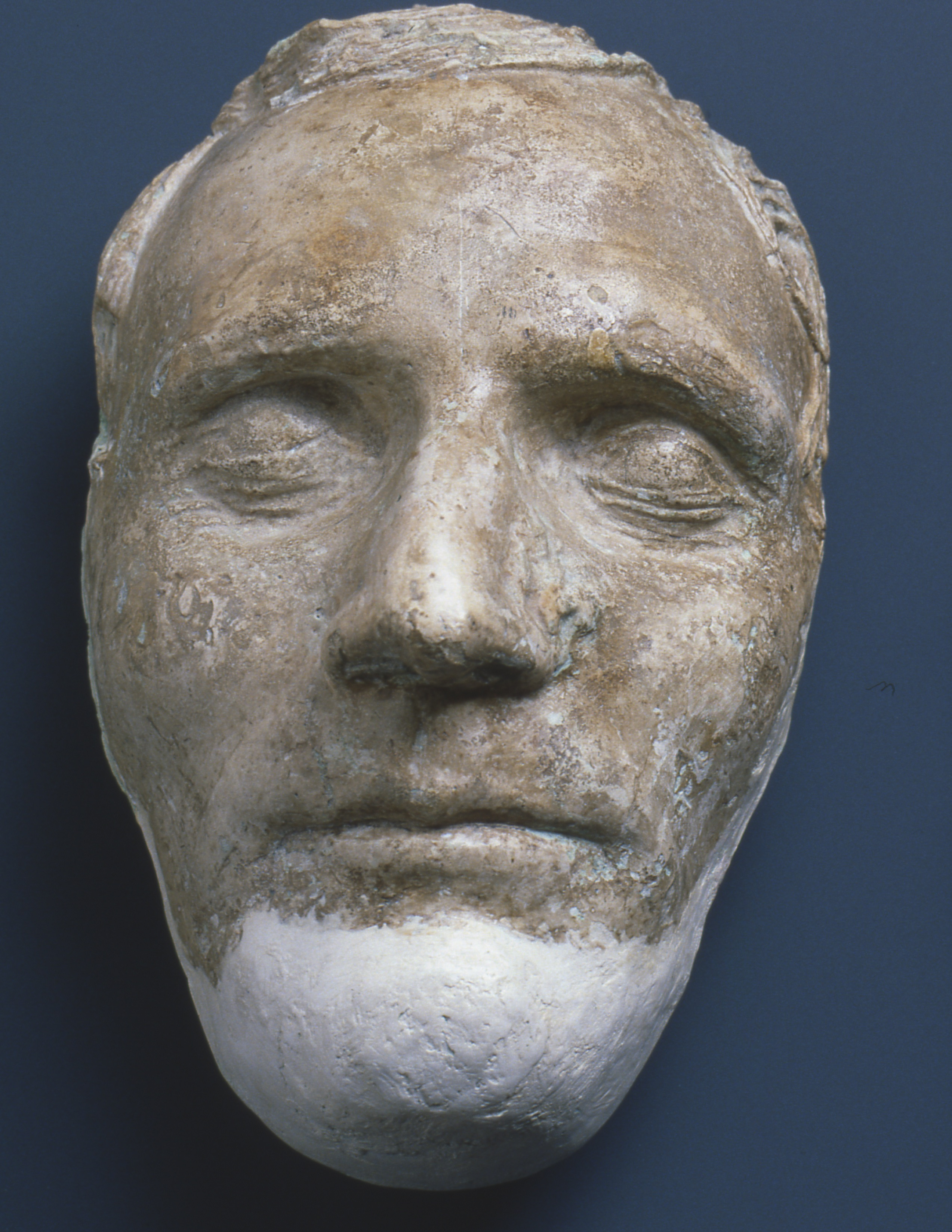 The Dibble death mask of Hyrum Smith.
