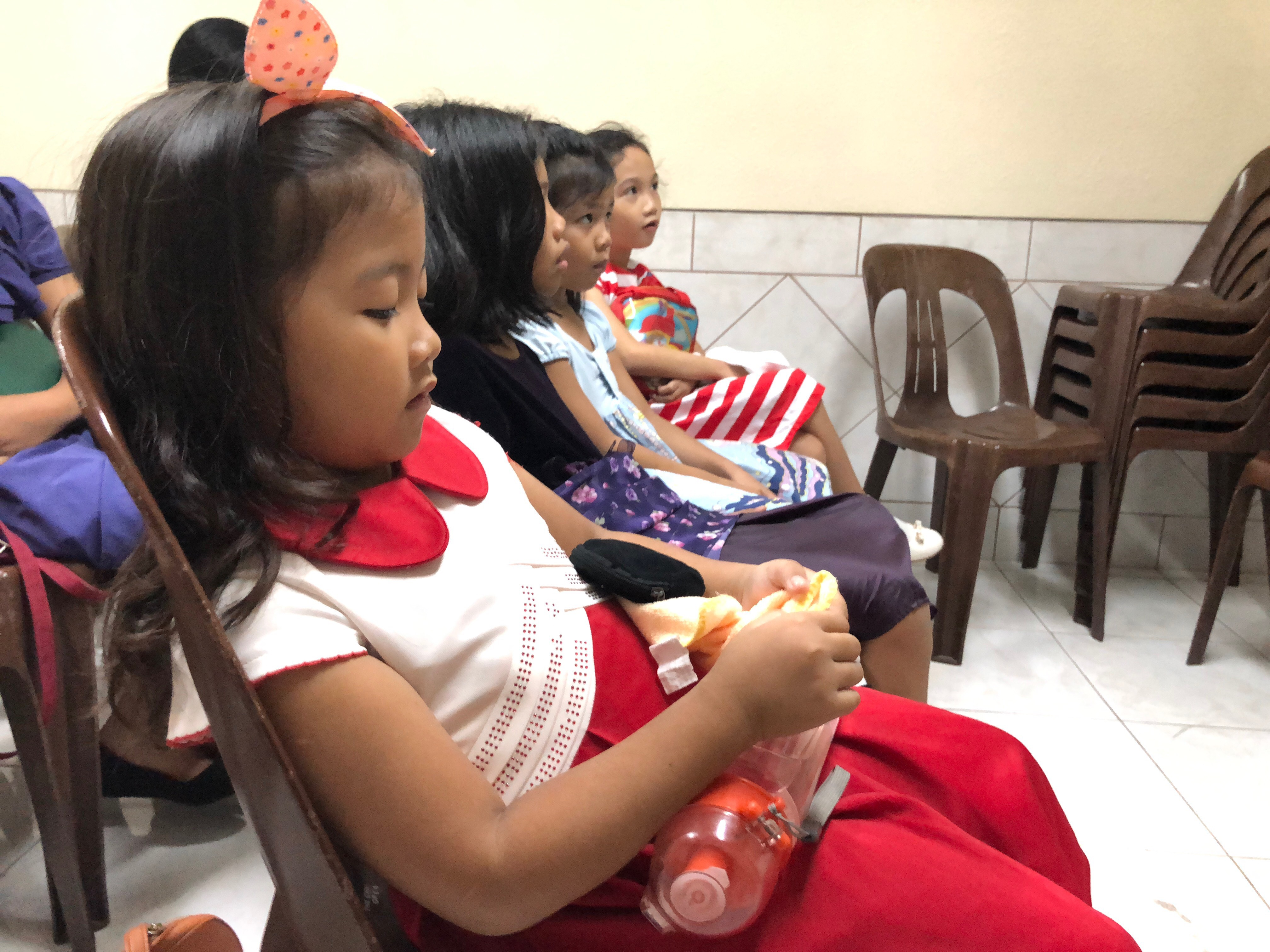 Children attend Primary in the Philippines, during the 140th anniversary year of the organization in August 2018.