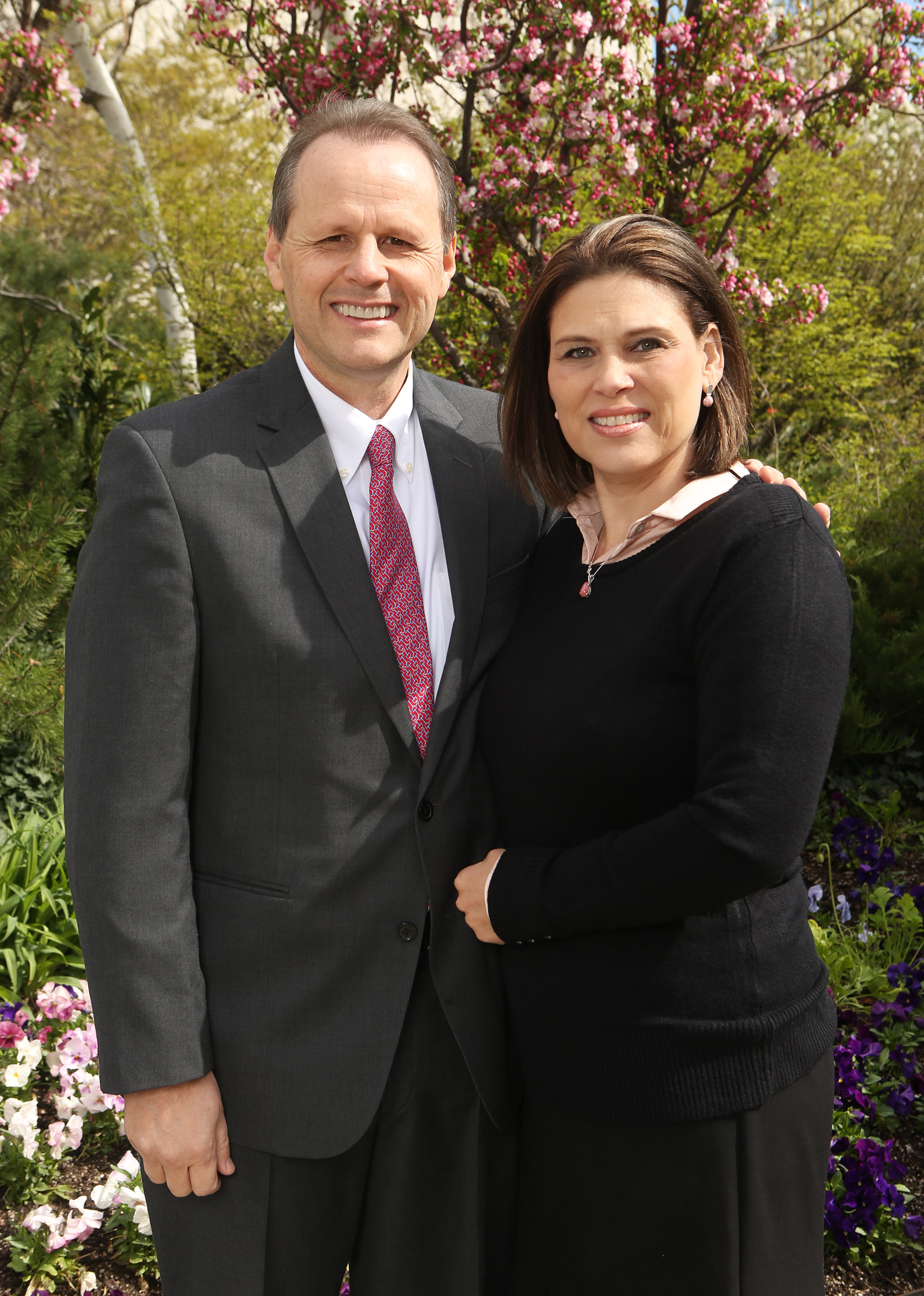 Elder Joni L Koch with his wife, Sister Liliane Michele Ludwig.