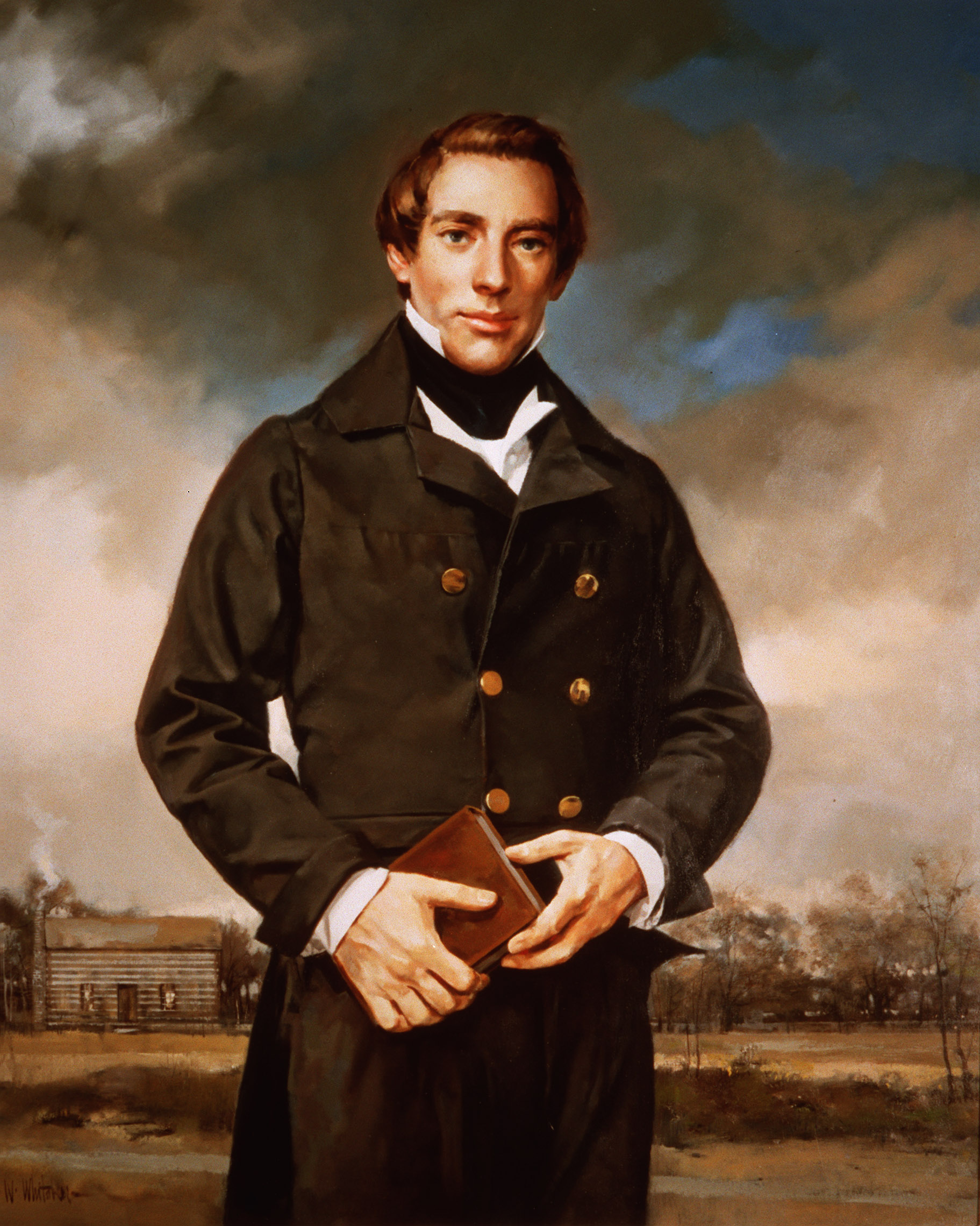 Joseph Smith painting by William Whitaker. Deseret Morning News owned painting. (Submission date: 12/27/2004)