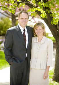 Elder Michael T. Ringwood and his wife, Rosalie, were acquainted while growing up in Salt Lake City. Later, they dated as students at BYU.