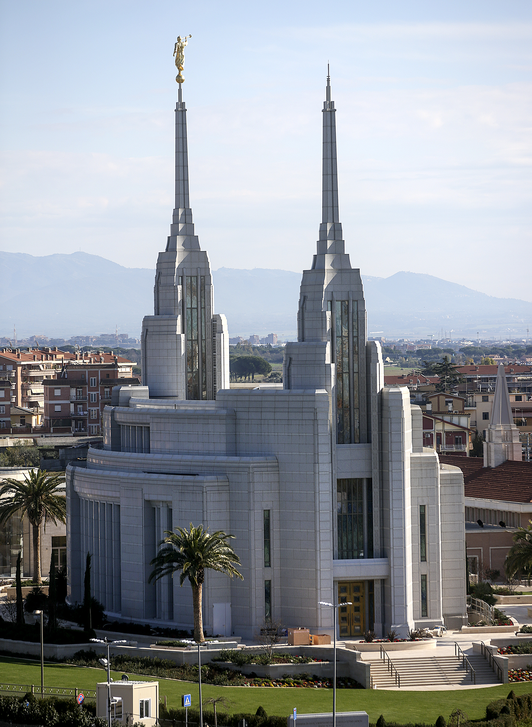 The Rome Italy Temple on Sunday, Nov. 18, 2018.