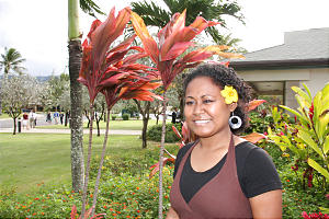 Among some 2,400 students on one of the most international campuses in the nation, Rilang Roberto of the small island nation of Palau is nearing graduation at BYU-Hawaii. Students at the university come from some 70 lands and study subjects carefully picked to make them employable when they return to their often distant homelands.