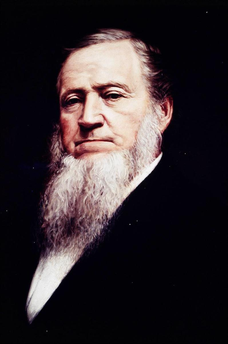 Brigham Young, governor of the Utah Territory and president of The Church of Jesus Christ of Latter-day Saints.