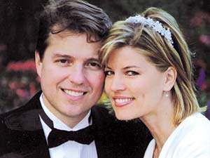 Mark Johnson's proposal at the Salt Lake Temple turned Jane Clayson from television career to domestic path.