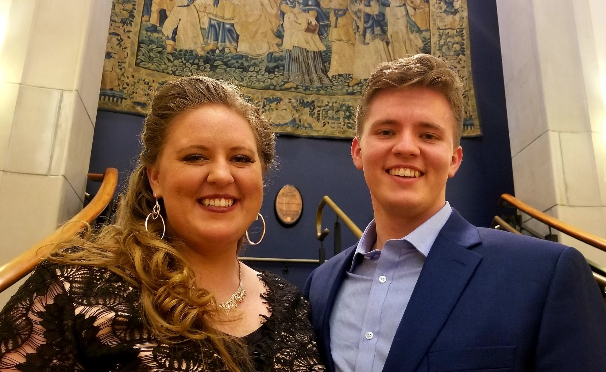 Siblings Mary and Jonah Hoskins are both pursuing professional opera careers following full-time missionary service.