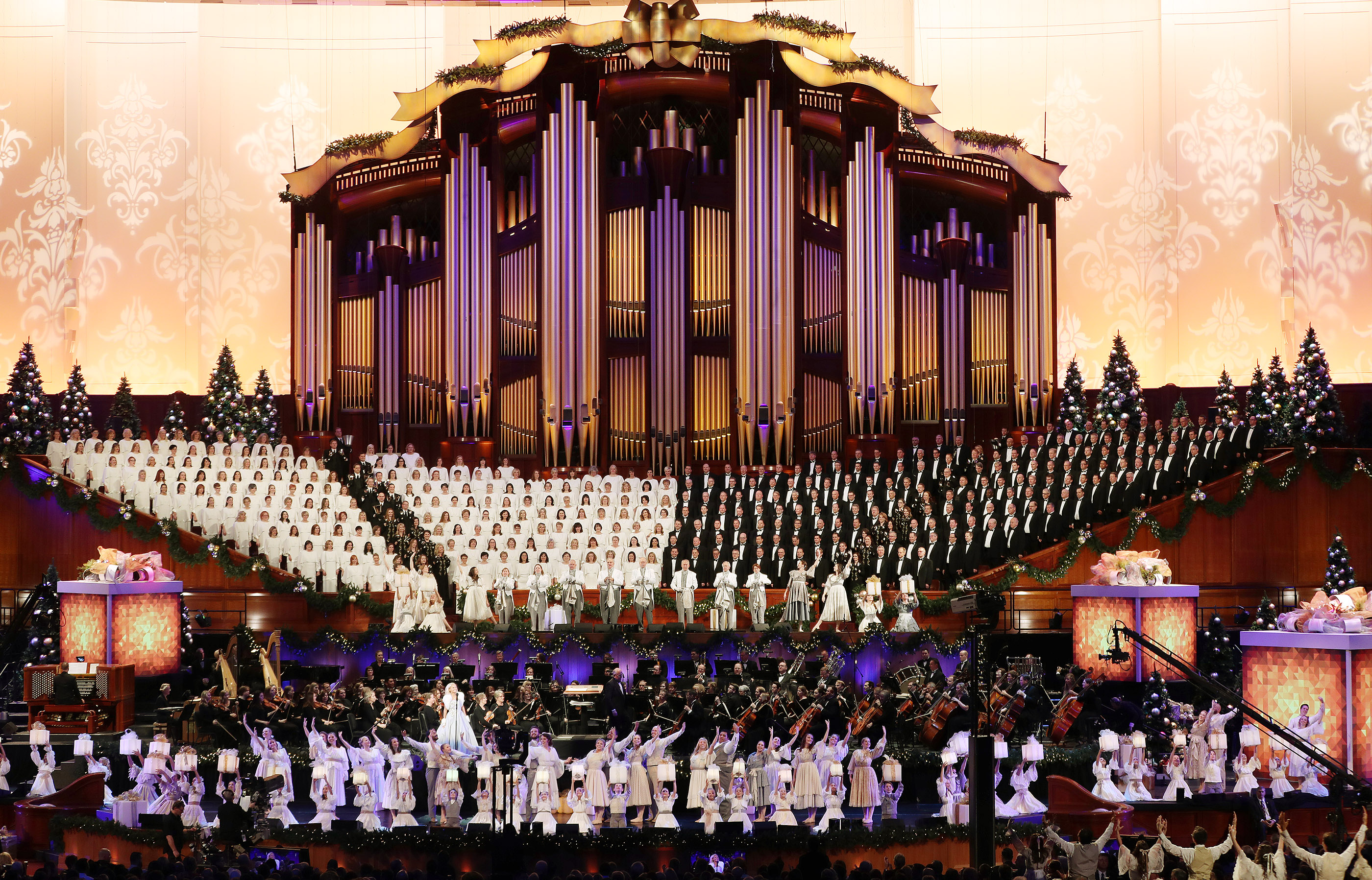 Tab Choir Christmas Concert 2020 Here's how to get tickets to the 2019 Tabernacle Choir Christmas