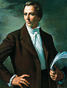 Joseph Smith, Prophet of the Restoration, was the subject of the Annual Symposium of the Sons of Utah Pioneers.