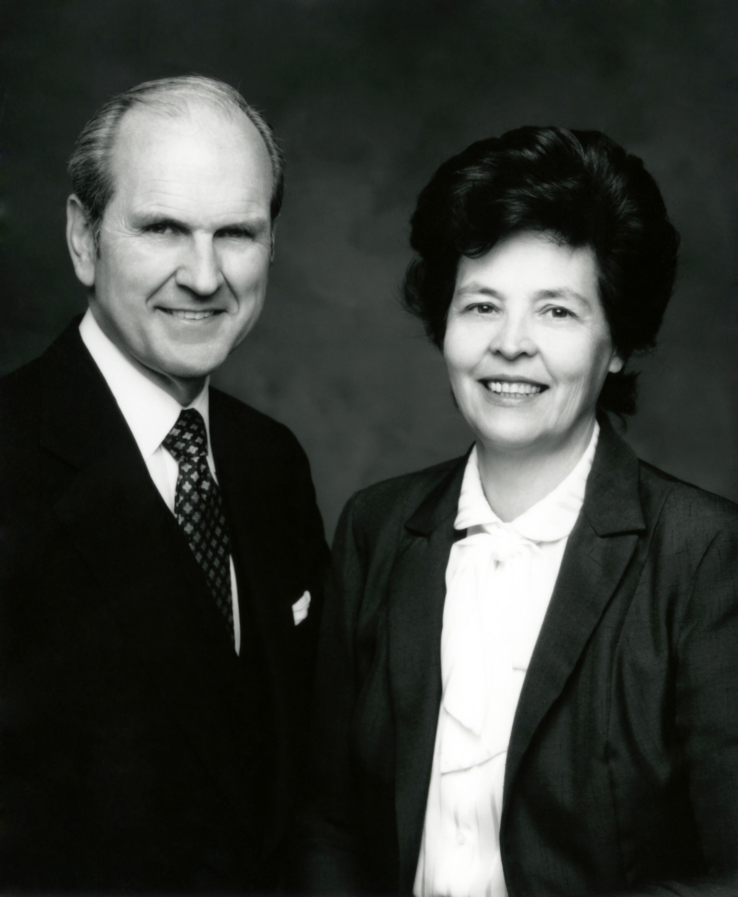 Elder Russell M. Nelson and his first wife, Sister Dantzel White Nelson, who died in 2005.