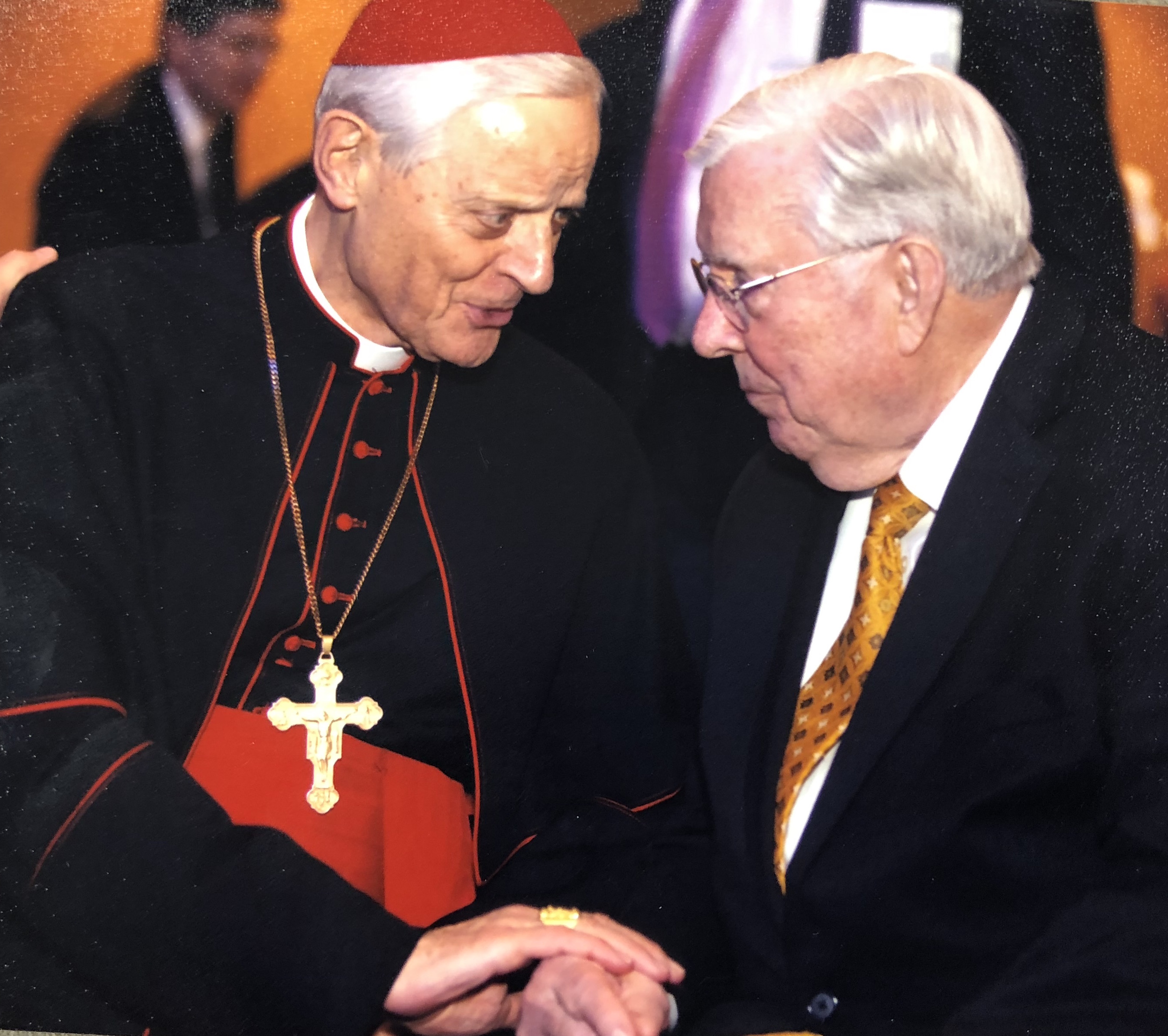President M. Russell Ballard honored His Eminence Cardinal Donald Wuerl, Archbishop of Washington, Saturday night, June 2, 2018, for his commitment to religious liberty.