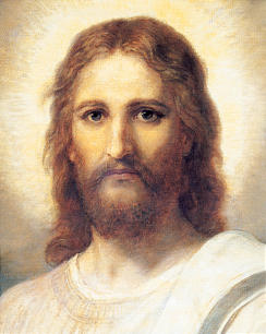 """The Savior is depicted in painting by Heinrich Hoffman, titled """"Figure of Christ."""""""