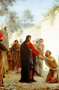 And in that same hour he cured many of their infirmities and plagues, and of evil spirits; and unto many that were blind he gave sight. Then Jesus answering said unto them, Go your way, and tell John what things ye have seen and heard; how that the blind see, the lame walk, the lepers are cleansed, the deaf hear, the dead are raised, to the poor the gospel is preached. (Luke 7:21-22)