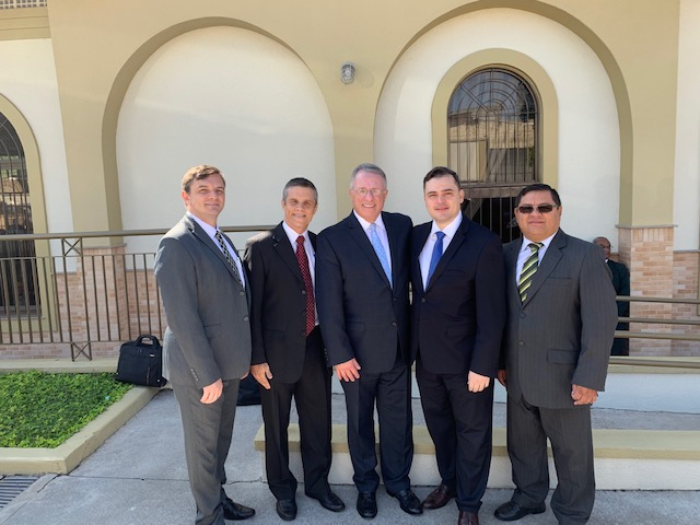 Elder Ulisses Soares returned to the neighborhood of his youth during his recent assignment.
