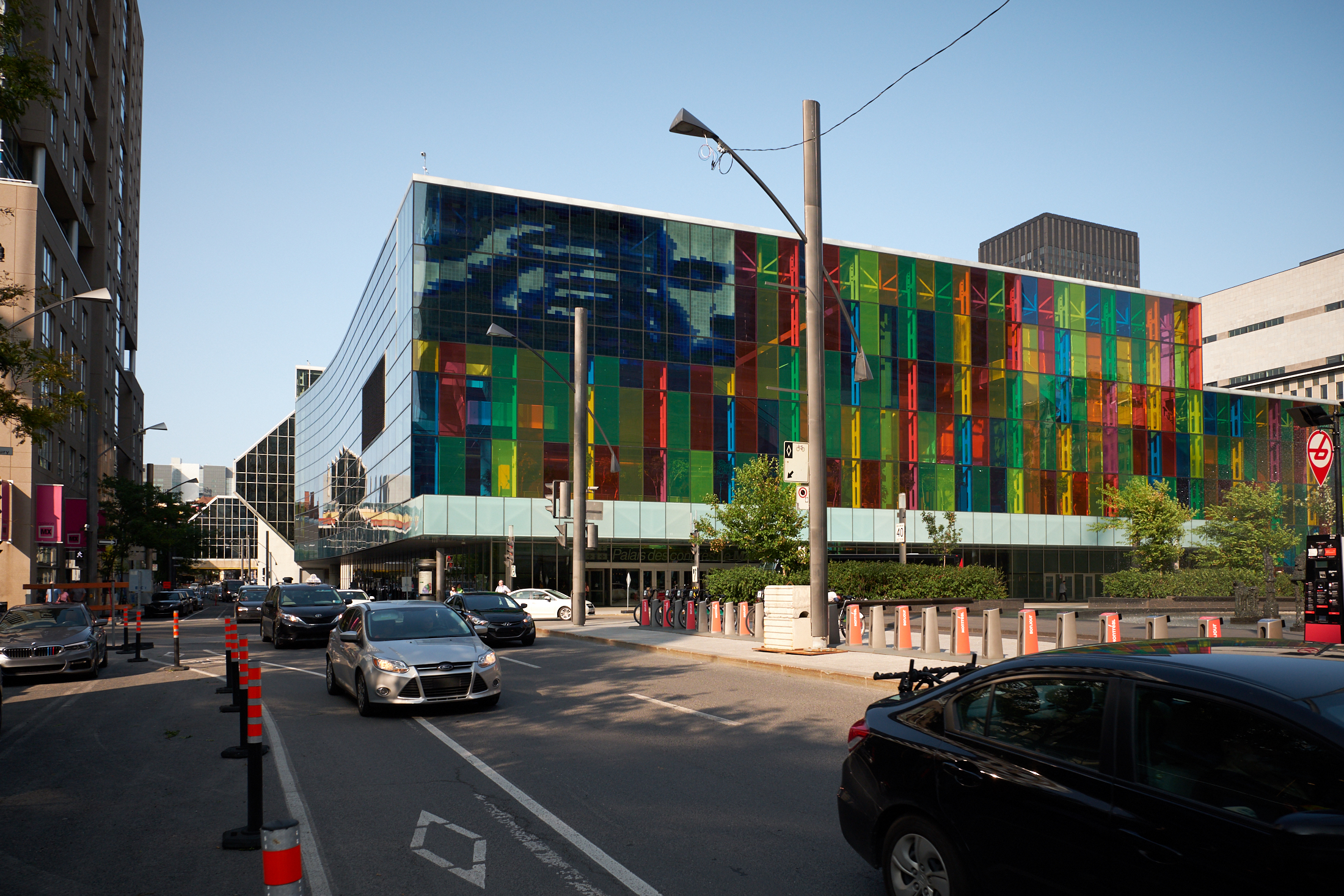 The Palais de congres de Montreal where more than 4,000 Latter-day Saints gathered on Aug. 18, 2018, to attend a devotional with President Russell M. Nelson and his wife, Sister Wendy Nelson. President and Sister Nelson visited three cities in central and eastern Canada Aug. 17-19.
