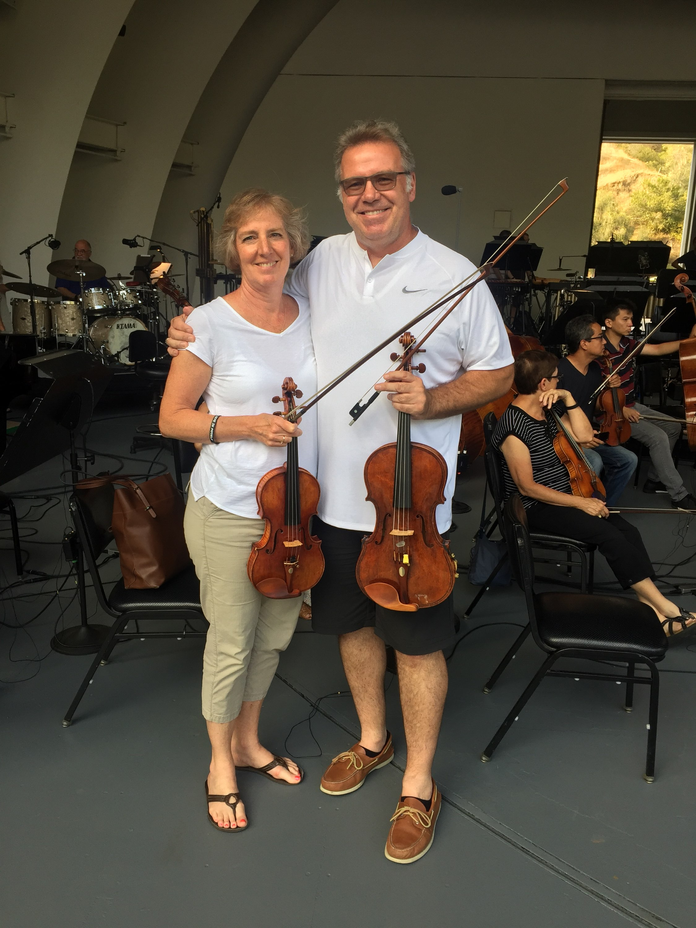 Stacy and Mick Wetzel have spent over 30 years as professional orchestra mates. Working and rehearsing together each day has brought them closer together as Latter-day Saints.