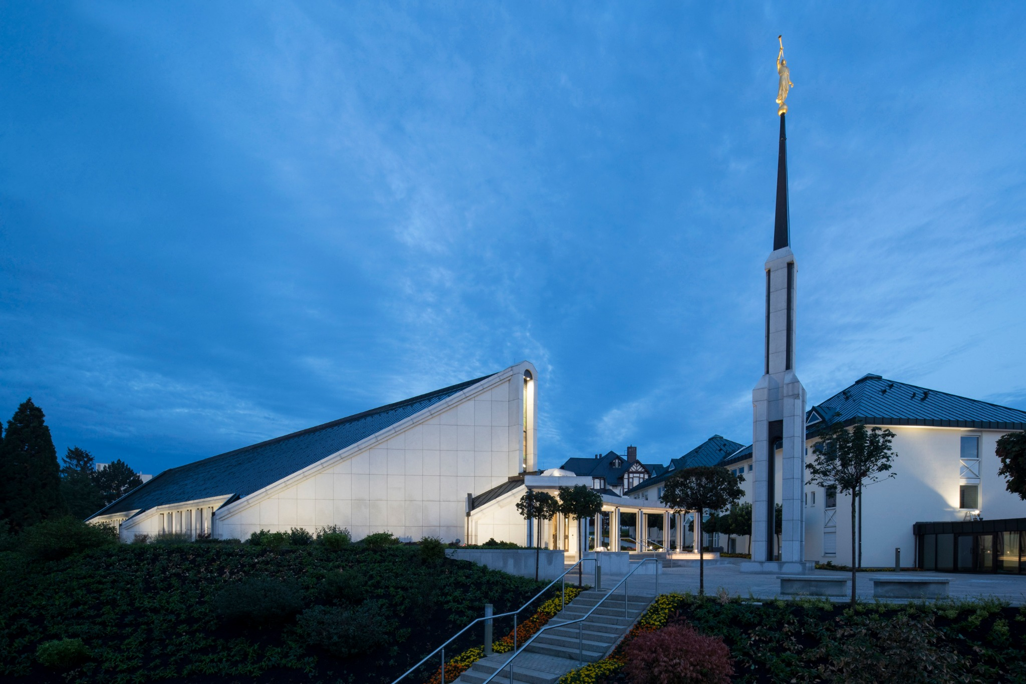 The Frankfurt Germany Temple