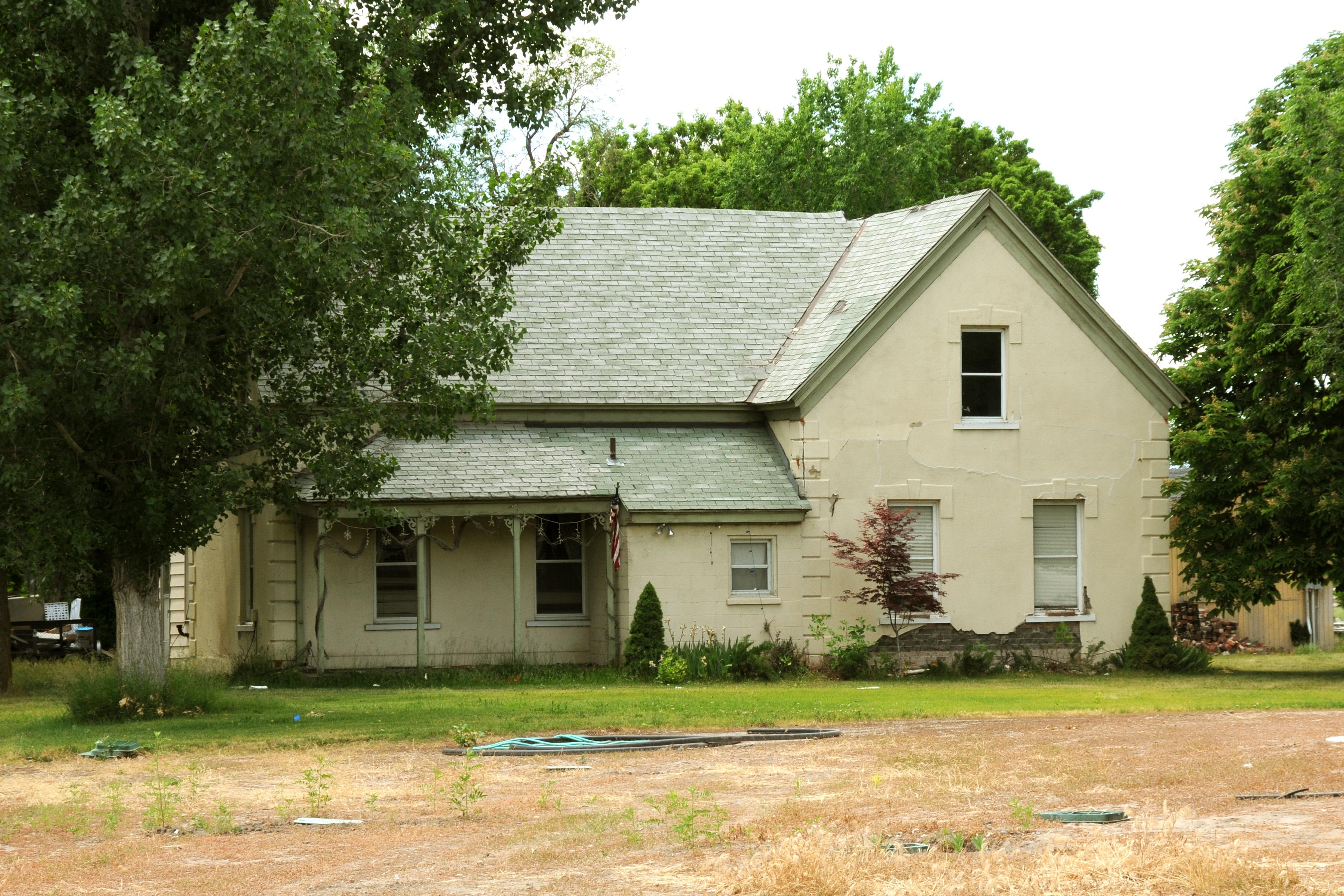 The Thomas Roueche home where John Taylor, third president of the church, died. The home has since been torn down.