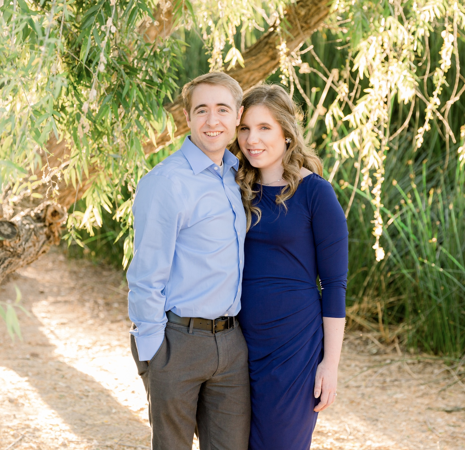 """Aimee and Eric Barnes studied """"Come, Follow Me"""" before getting married."""