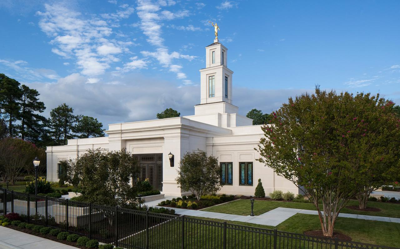 The Raleigh North Carolina Temple was rededicated on Sunday, Oct. 13, by President M. Russell Ballard.