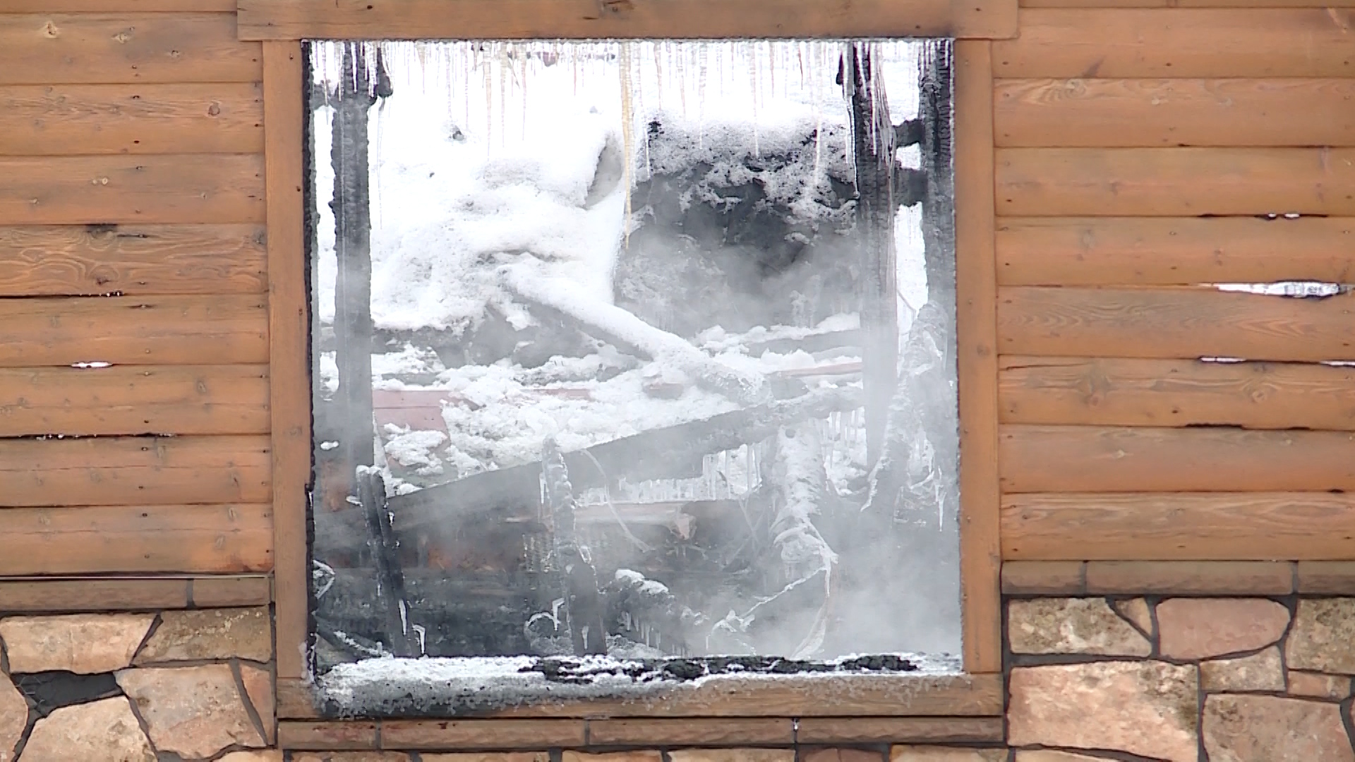 The scene on Saturday, Feb. 16, 2019, of a home explosion that occurred the night before in a gated community on Lake Pines Drive in Timber Lakes, which is just east of Heber City, Utah.
