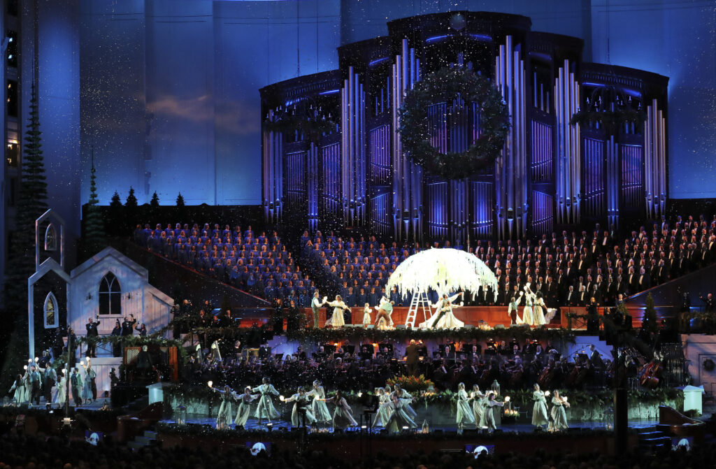 2020 Tabernacle Choir Christmas Concert Tabernacle Choir at Temple Square cancels Christmas concert