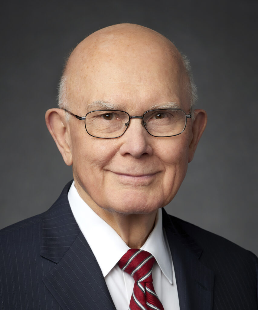 President Dallin H. Oaks, first counselor in the First Presidency