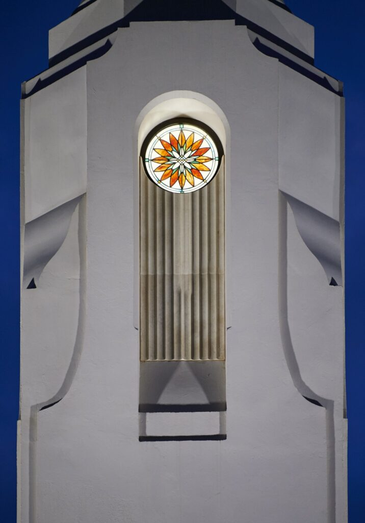 Detailed décor in the Durban South Africa Temple.