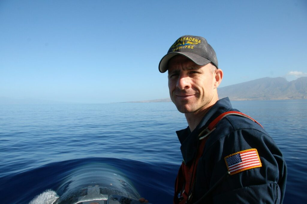 A returned missionary, U.S. Navy Commander Kelly Laing has spent more than two decades in the Navy's submarine community.