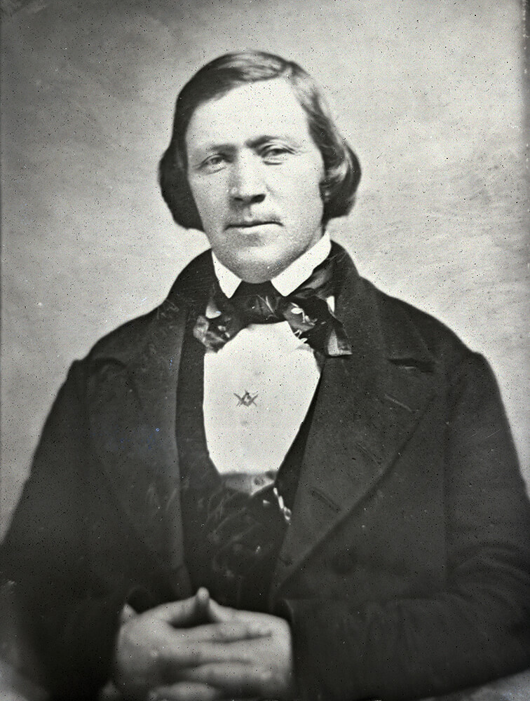 """A photo of Brigham Young, whose story is continued in the new """"Saints, Volume 2"""" which will be released Feb. 12, 2020."""