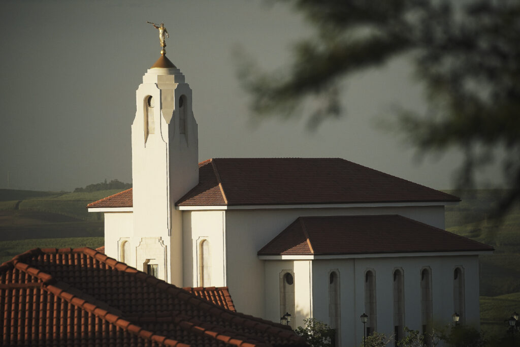 The Durban South Africa Temple in Umhlanga, South Africa, on Feb. 13, 2020.