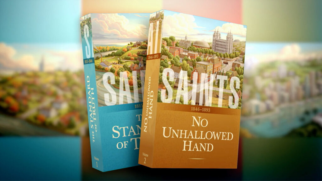 """Saints, Volume 2, No Unhallowed Hand, 1846-1893,"" will be released on Feb. 12, 2020. More than 500,000 copies have been sold of ""Saints, Volume 1, The Standard of Truth, 1815-1846"" published in 2018."