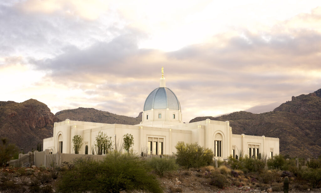 Tucson Arizona Temple.