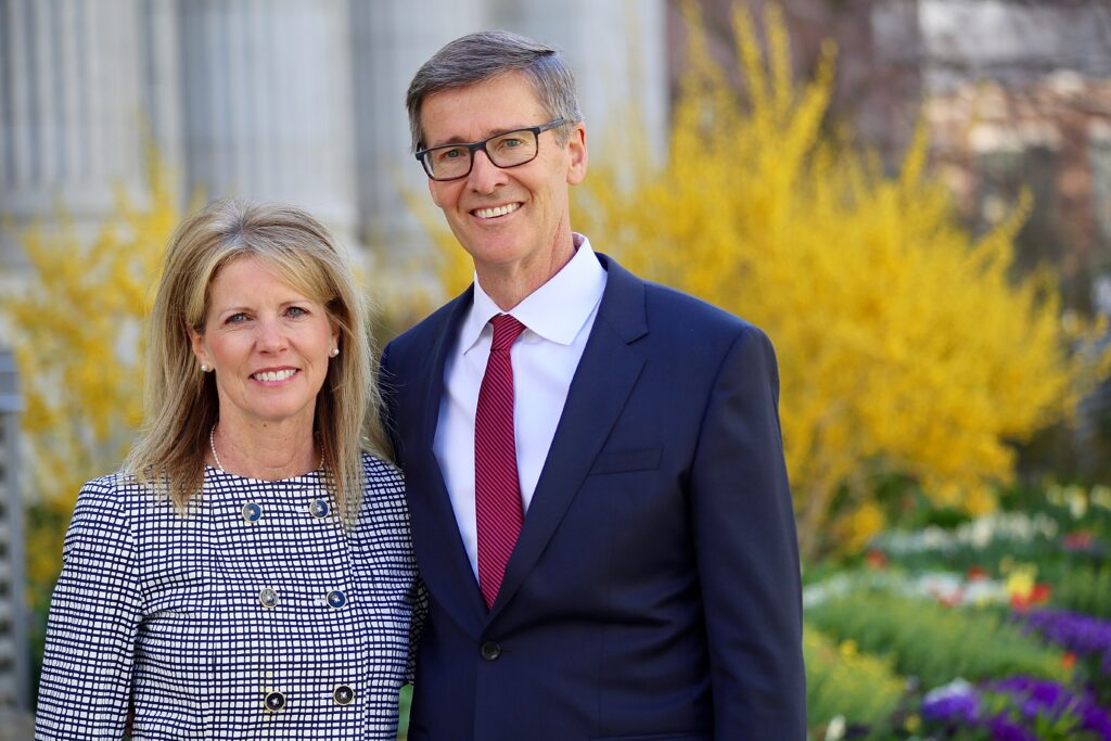 Brother Steven J. Lund and Sister Kalleen Lund