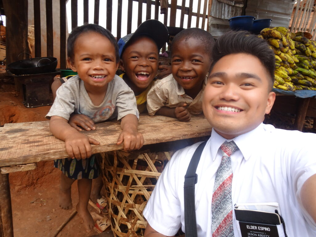 Richard Espino Jr. was called to serve in the Madagascar Antananarivo Mission.