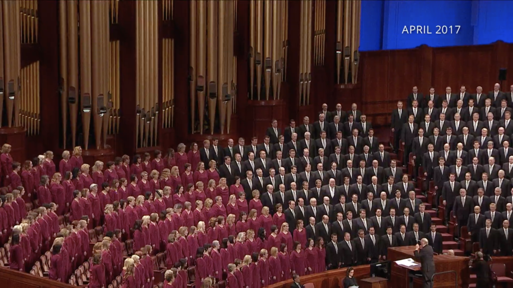 A prerecorded musical number performed by the Tabernacle Choir on Temple Square in April 2017 is played during the Saturday evening session of the 190th Annual General Conference on April 4, 2020. On Monday, April 27, the Choir and Orchestra announced their 2020 Heritage Tour scheduled for several European nations will be postponed until 2021 due to the COVID-19 pandemic.