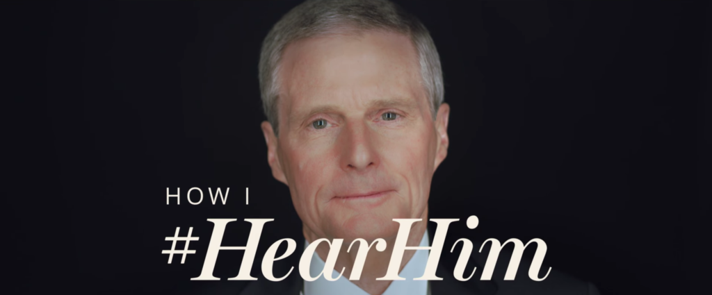 Elder David A. Bednar of the Quorum of the Twelve Apostles is featured in a new Church-produced video series about how to #HearHim.