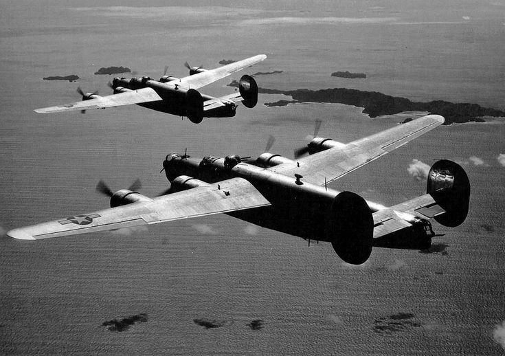 B-24 in the Pacific