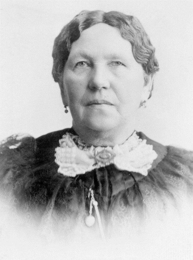 Elizabeth Horrocks Jackson traveled with her husband and children across the plains in the Martin handcart company. Her husband died on the trail.